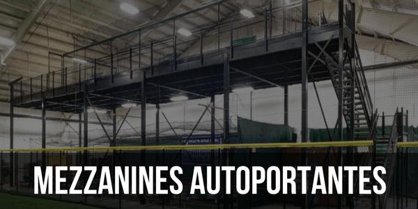 Mezzanines autoportantes