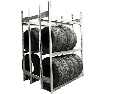 Mini racking pour pneus