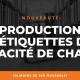 Production étiquettes capacité