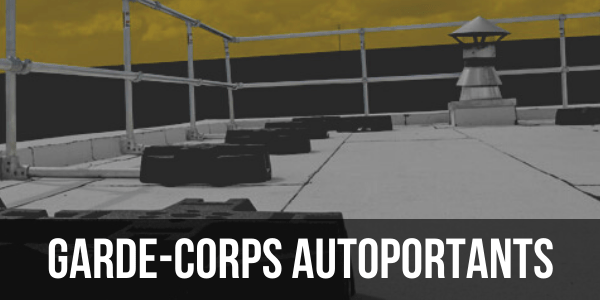 GARDE-CORPS AUTOPORTANTS