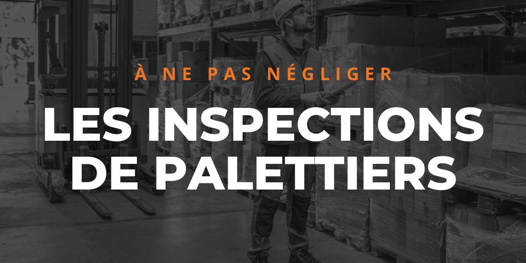 inspections de palettiers
